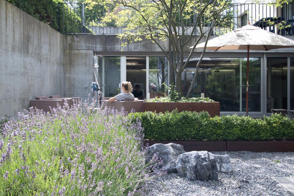 Therapie im Garten